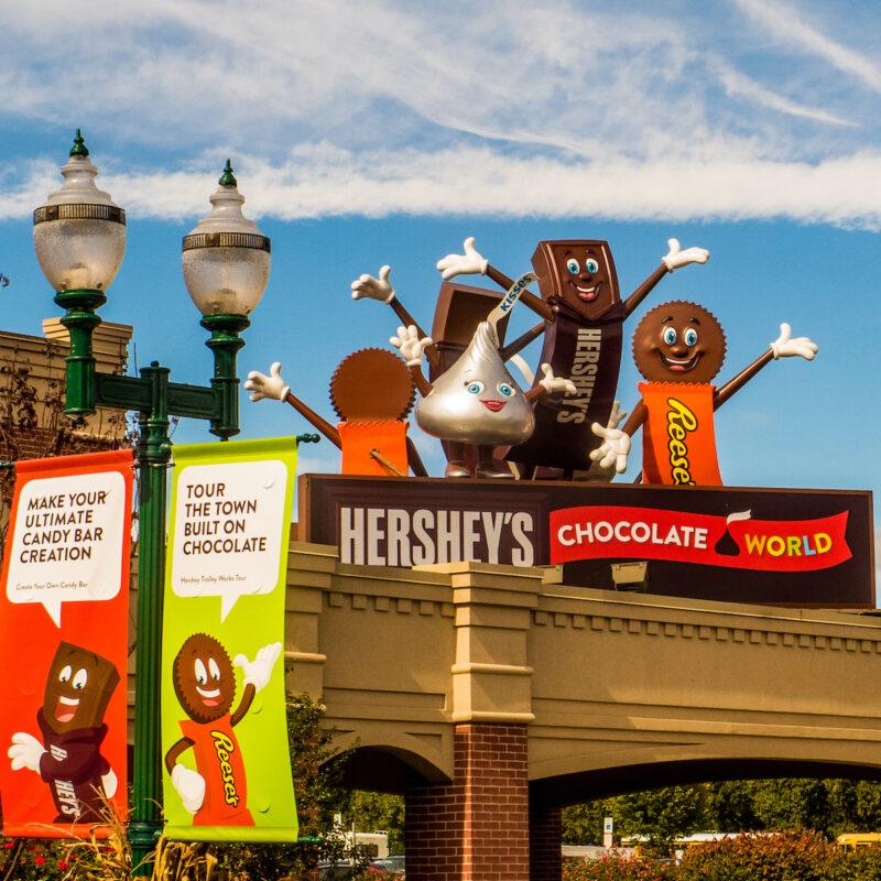 Chocolate World in Hershey, PA.