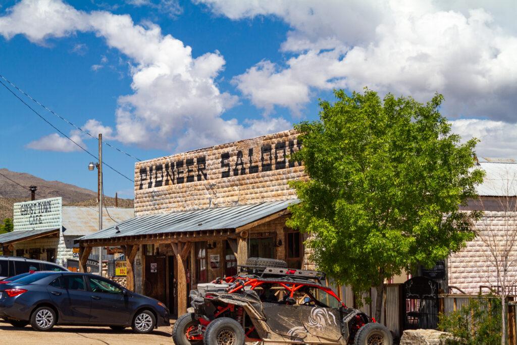 Pioneer Saloon in Goodsprings, Nevada.
