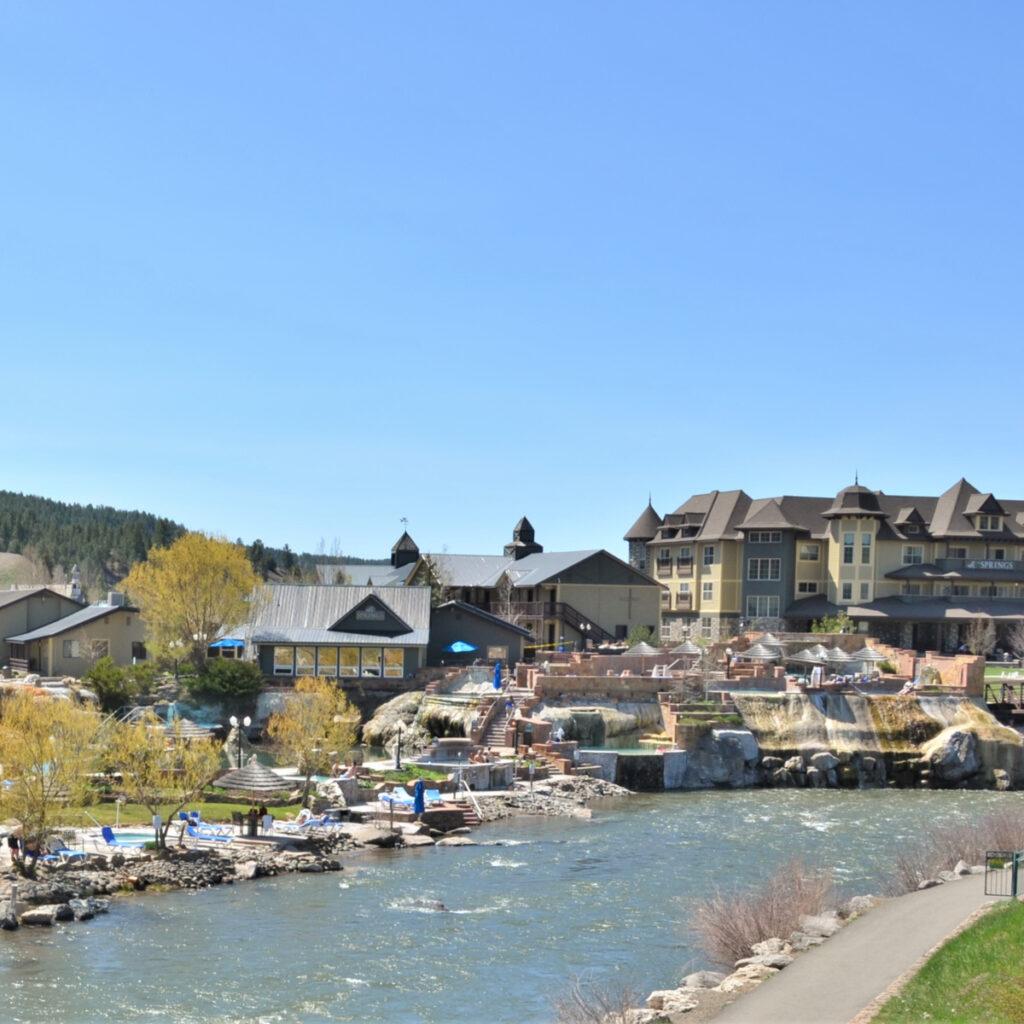 Pagosa Springs in Colorado.