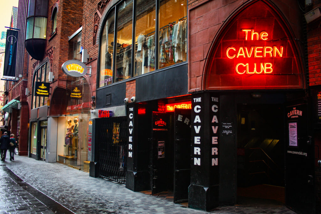 The Cavern Club in Liverpool, England.