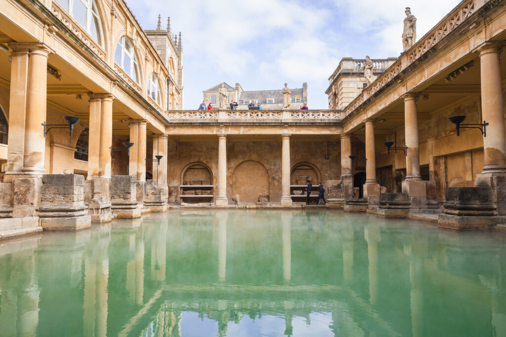 Roman baths of Bath.