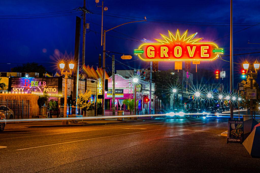 The Grove in Saint Louis, Missouri.
