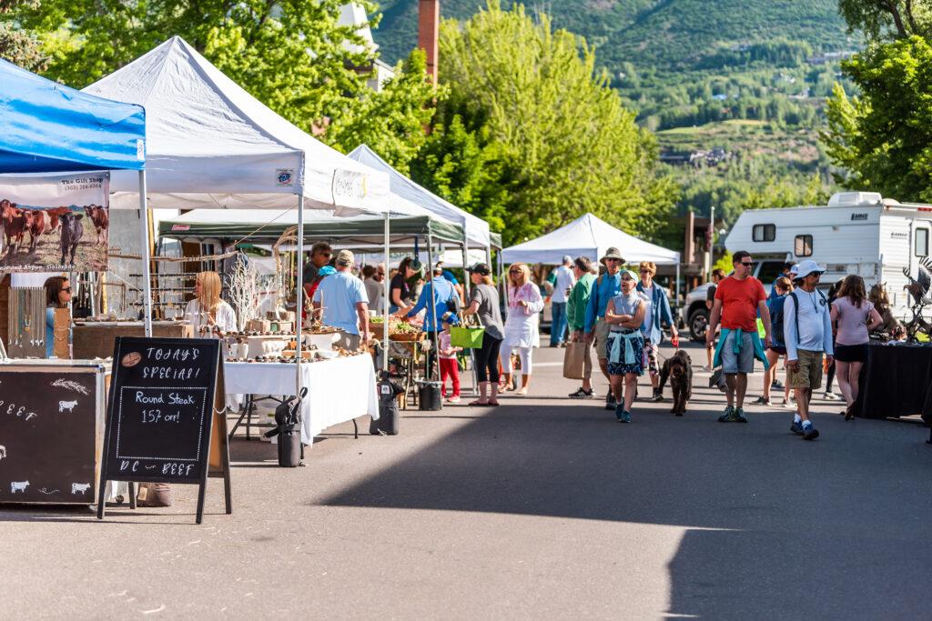 Aspen Saturday Market.