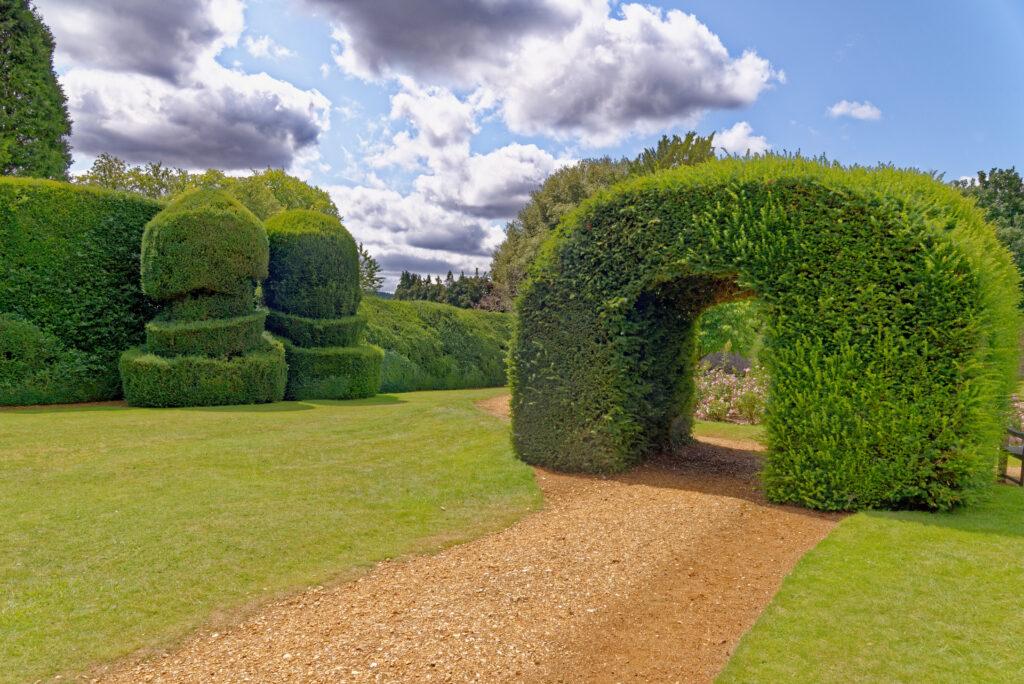 Monks Garden at Highclere Castle.