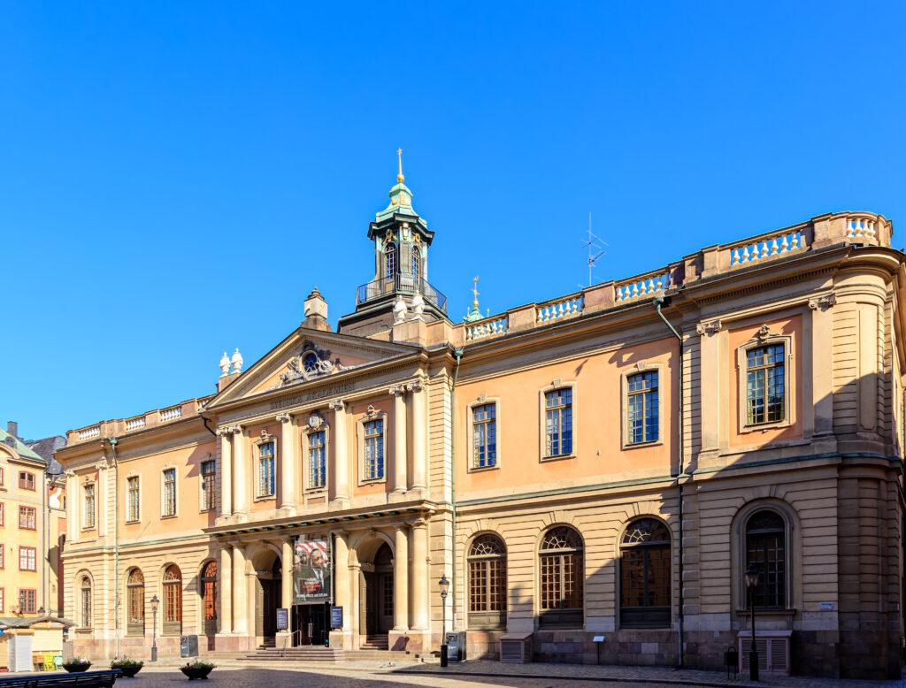 Nobel Prize Museum Sweeden.