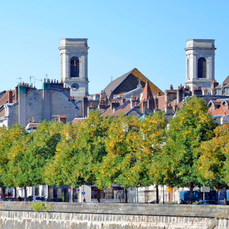 Battant Neighborhood in Besancon, France.