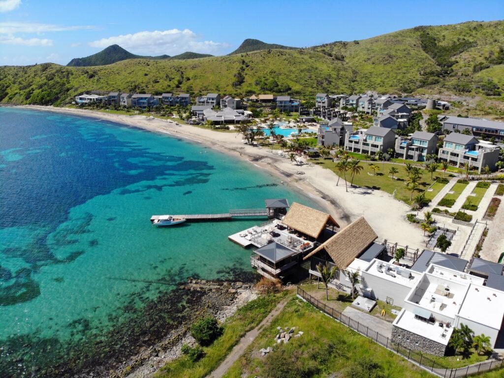 Aerial view of the Park Hyatt St Kitts.