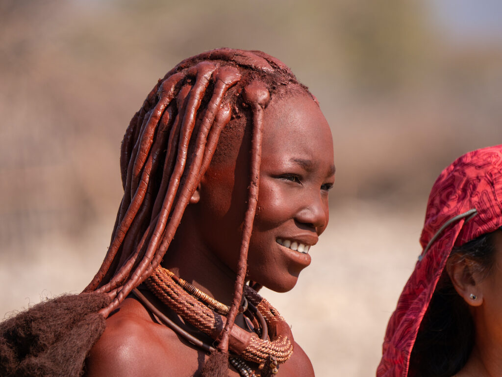 A woman in the Himba tribe.