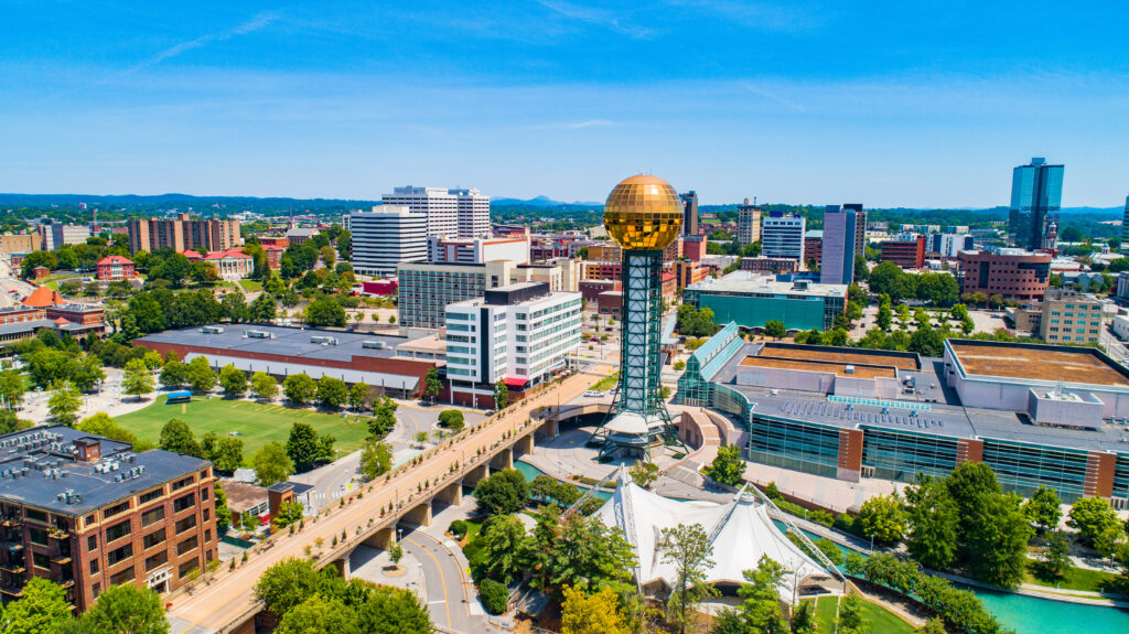 Knoxville, Tennessee.