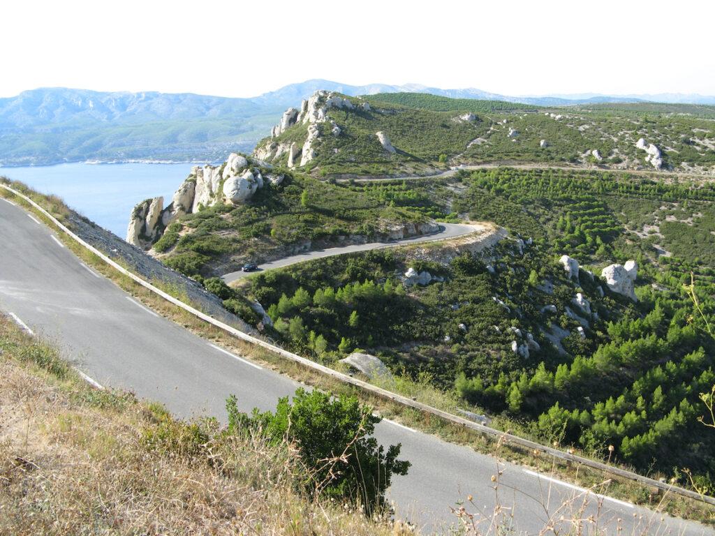Route des Cretes, France.