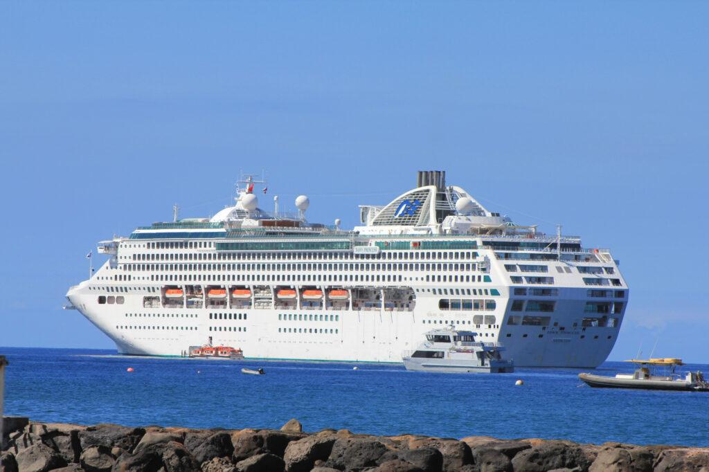 Dawn Princess, ship of Princes Cruises.