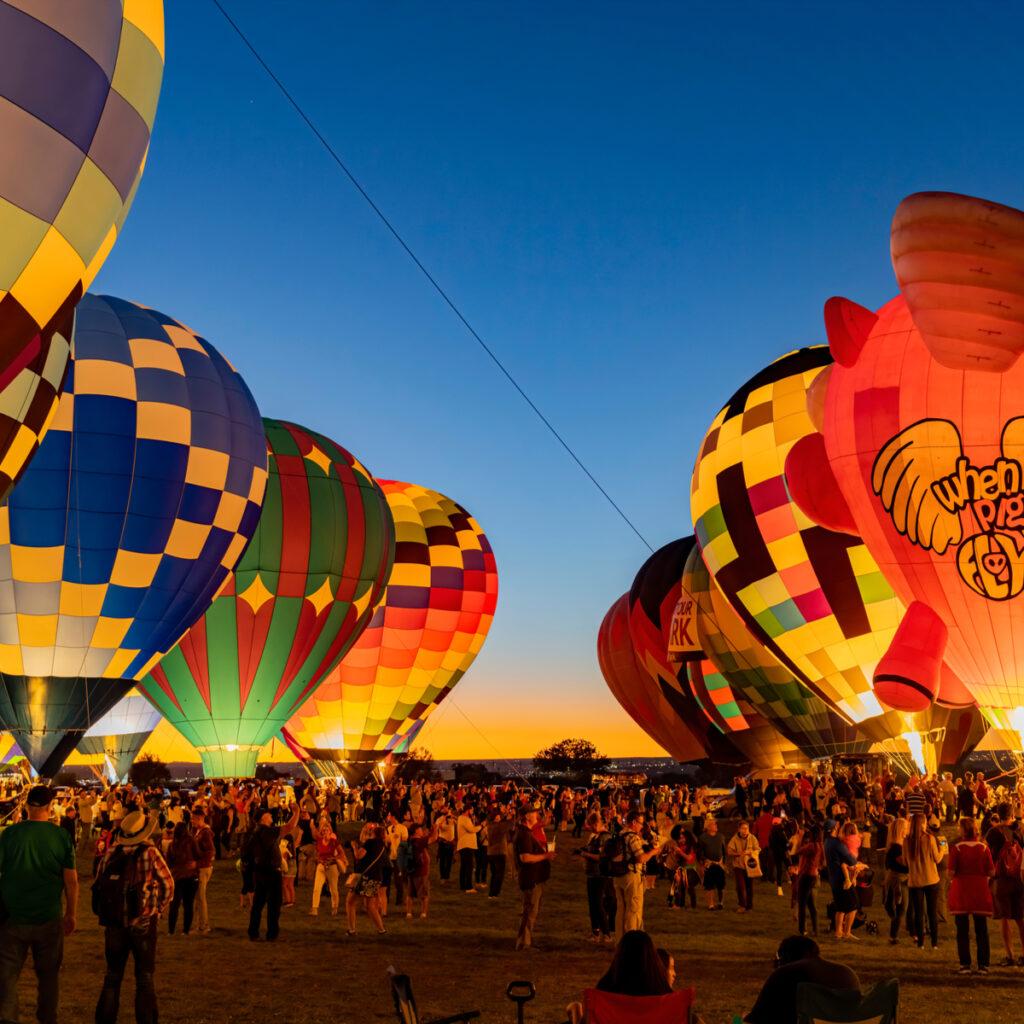 Albuquerque International Balloon Fiesta event.