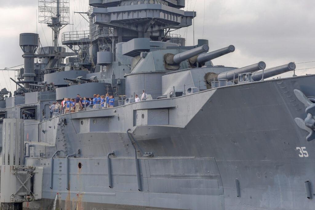 Battleship Texas, National Historic Landmark and museum.