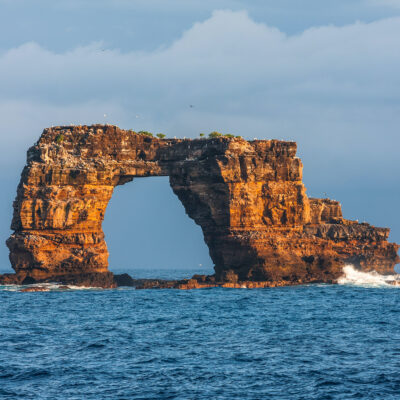 Darwin's Arch in the Galapagos.