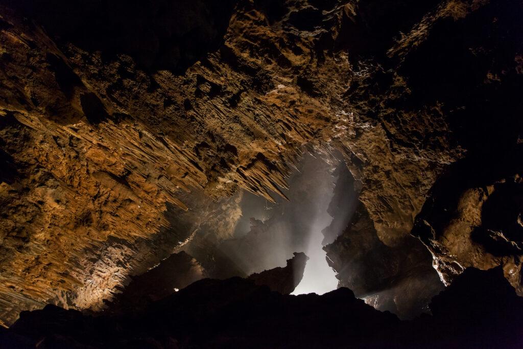 Cueva de Valporquero, central Spain.