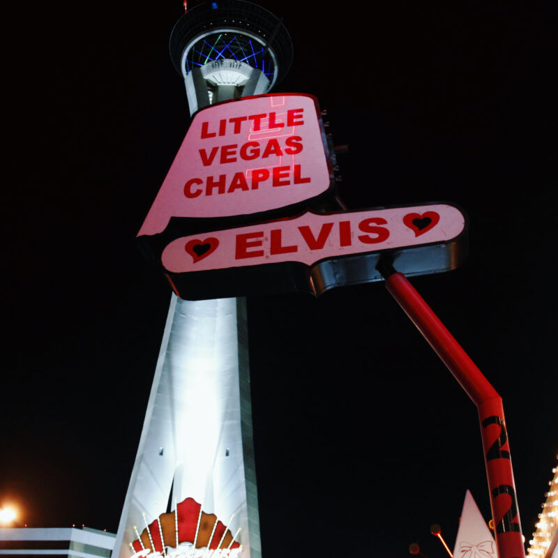 Chapel in Las Vegas.