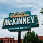 Downtown McKinney, Texas.
