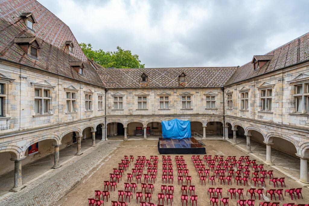 Granvelle Palace in Besancon, France.