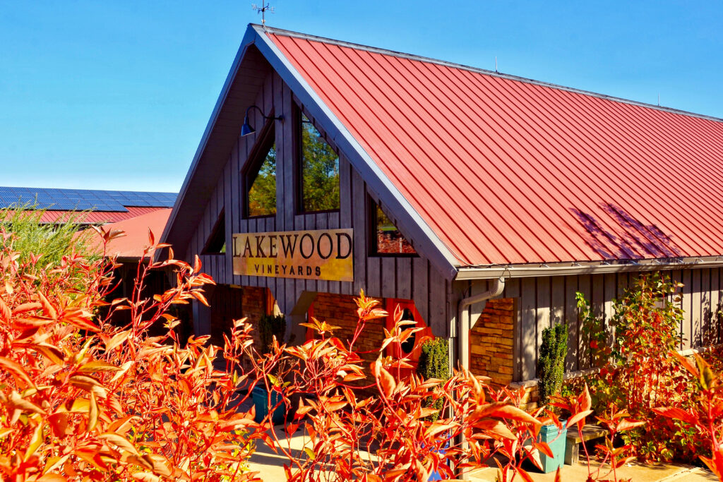 Lakewood Vineyards in the heart of Finger Lakes Wine Country.