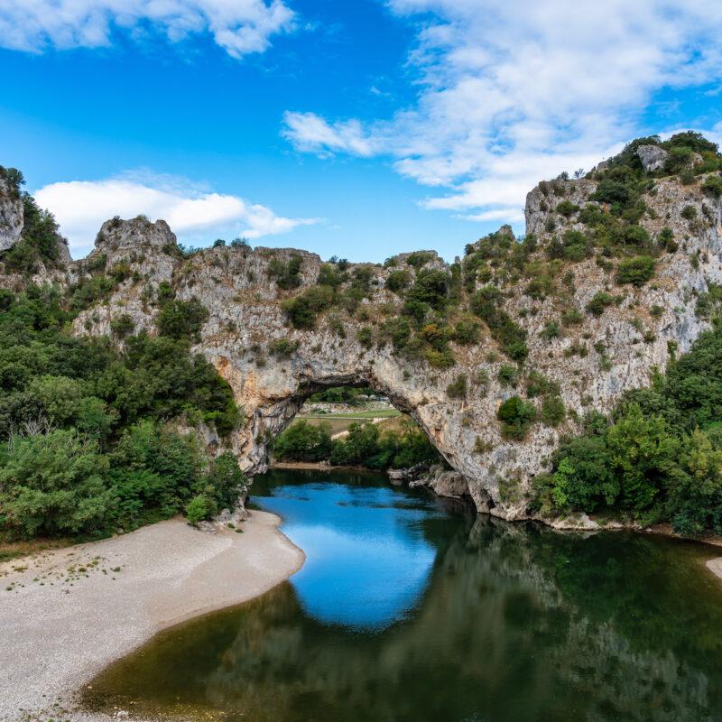 Pont D'Arc in France.
