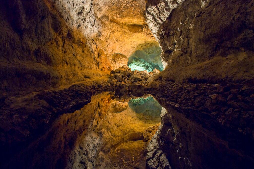 Cueva de los Verdes, Spain.