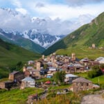 Svaneti region of Georgia..