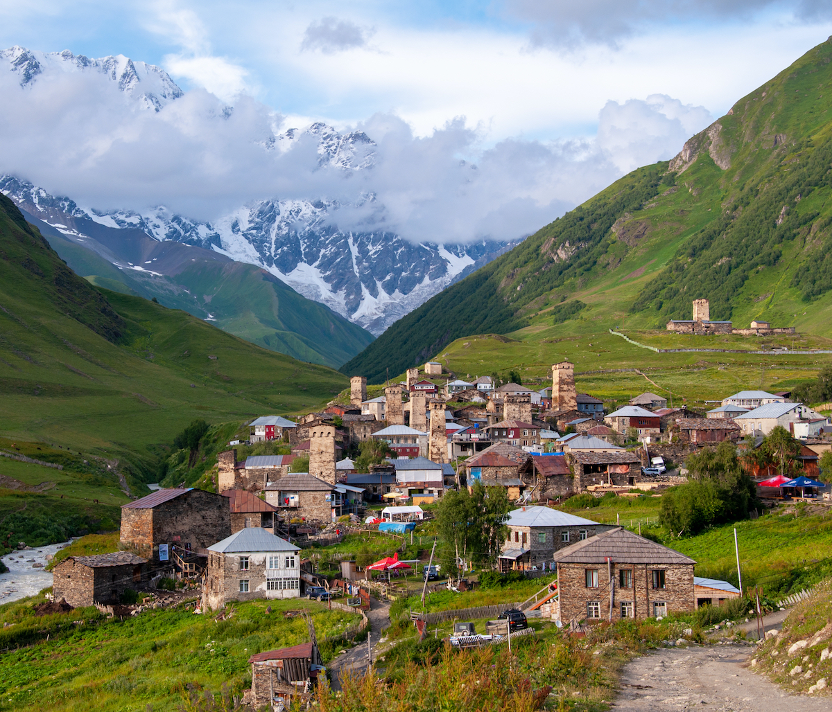 Svaneti region of Georgia..