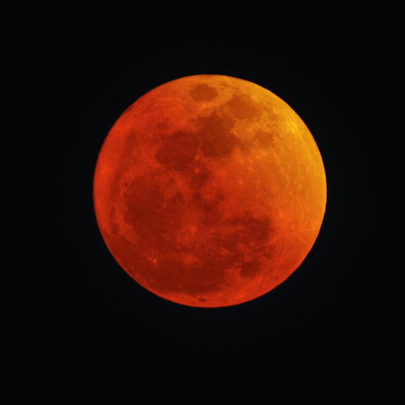 Lunar eclipse full moon.