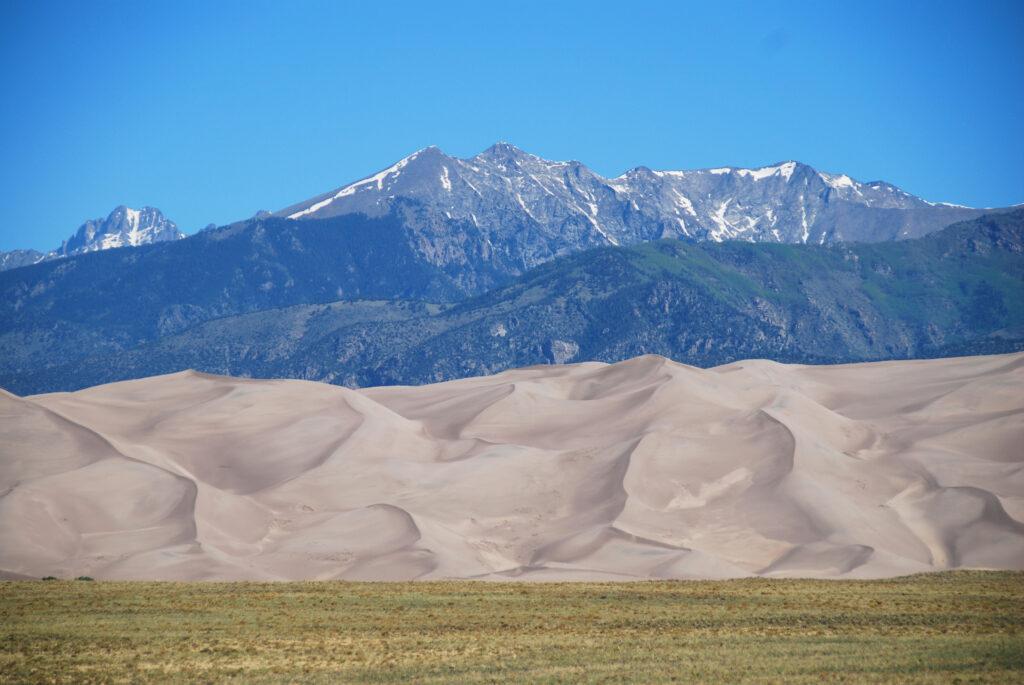 Alamosa Colorado Sand Dunes.