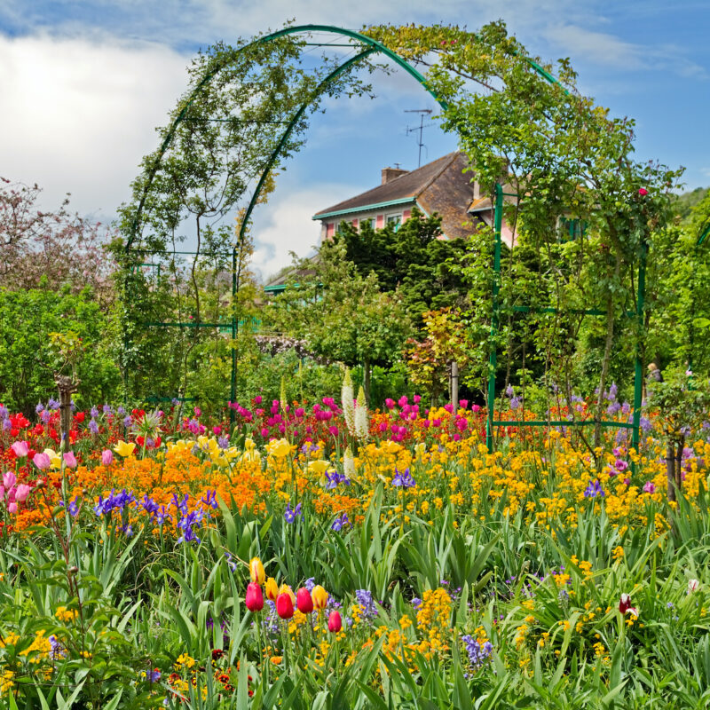Monet's Garden in Giverny, France.