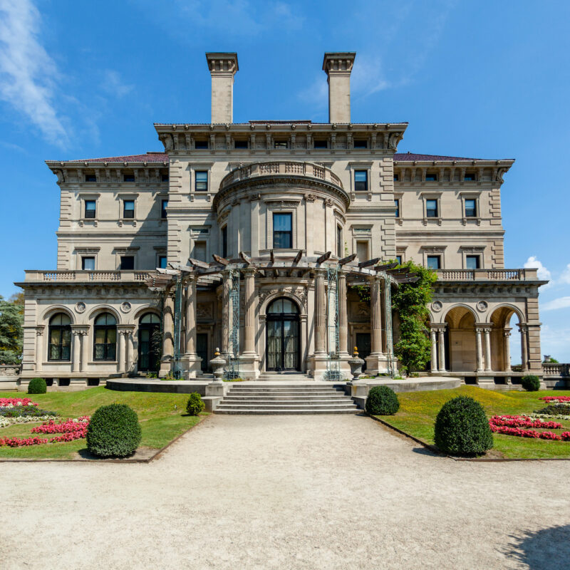 The Breakers mansion in Rhode Island.