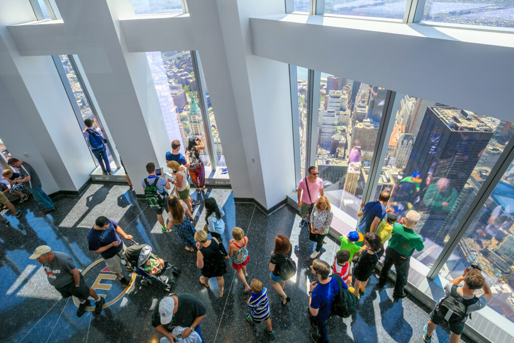 ONE WORLD OBSERVATORY in New York.