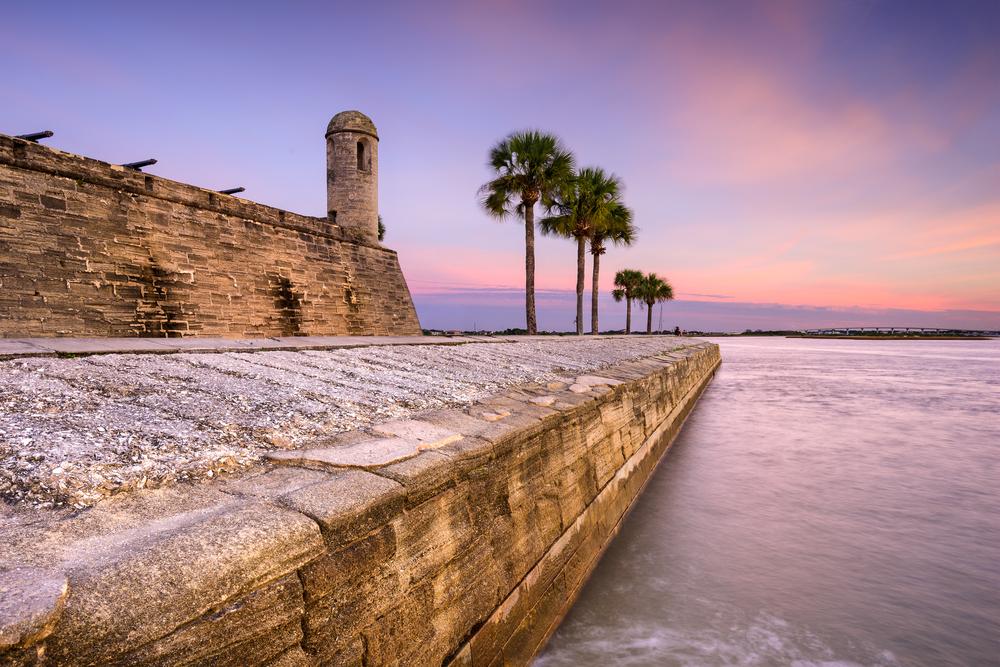 Castillo de San Marcos National Monument St. Augustine, Florida