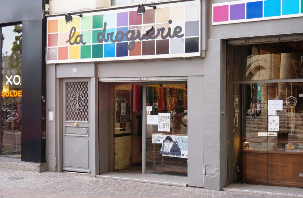 The original La Droguerie store.