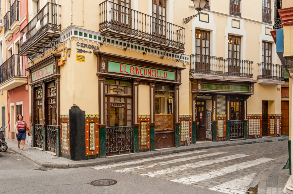 The famous El Rinconcillo a tapas bar.
