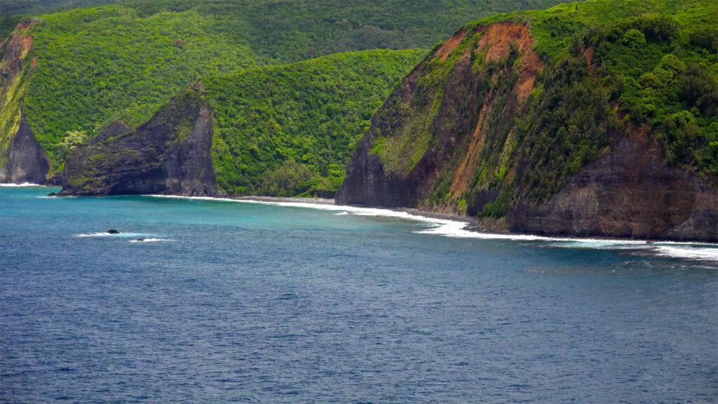 Kona coast on the Big Island of Hawaii.