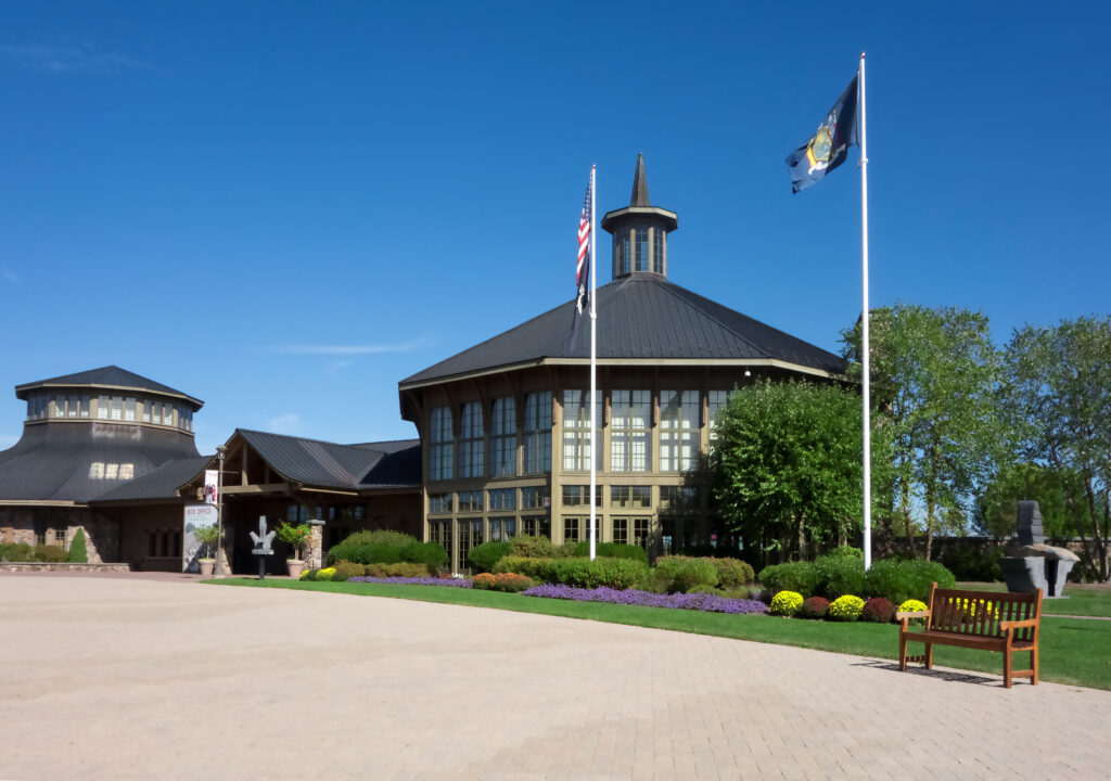 The Bethel Woods Center for the Arts.