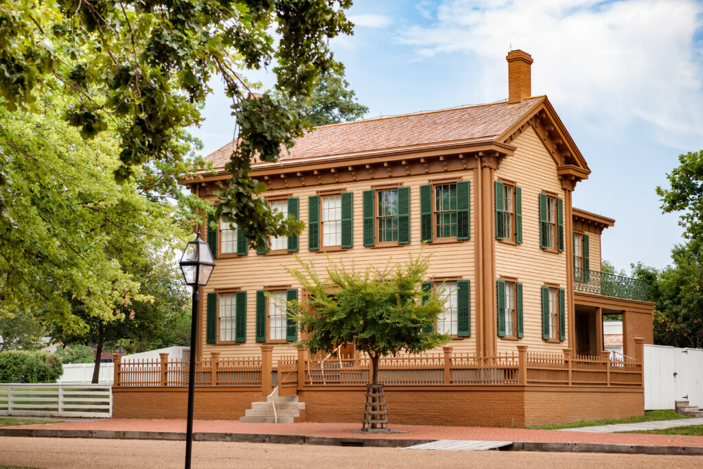 Lincoln home and national historic site.