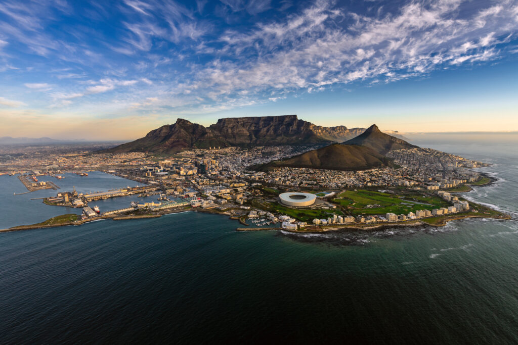 Views in Cape Town.