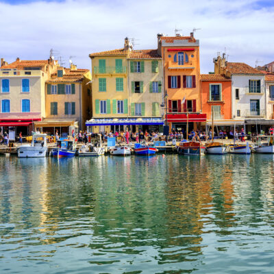 The port of Cassis, France.