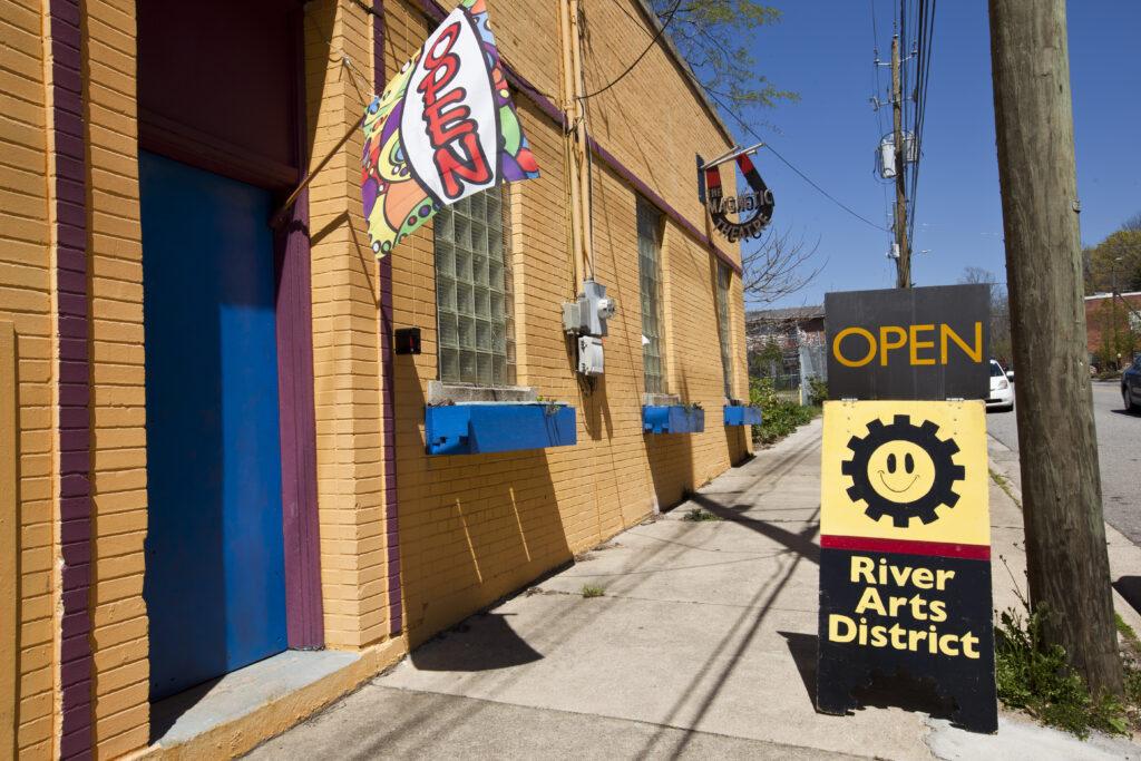 River Arts District, Asheville, North Carolina.