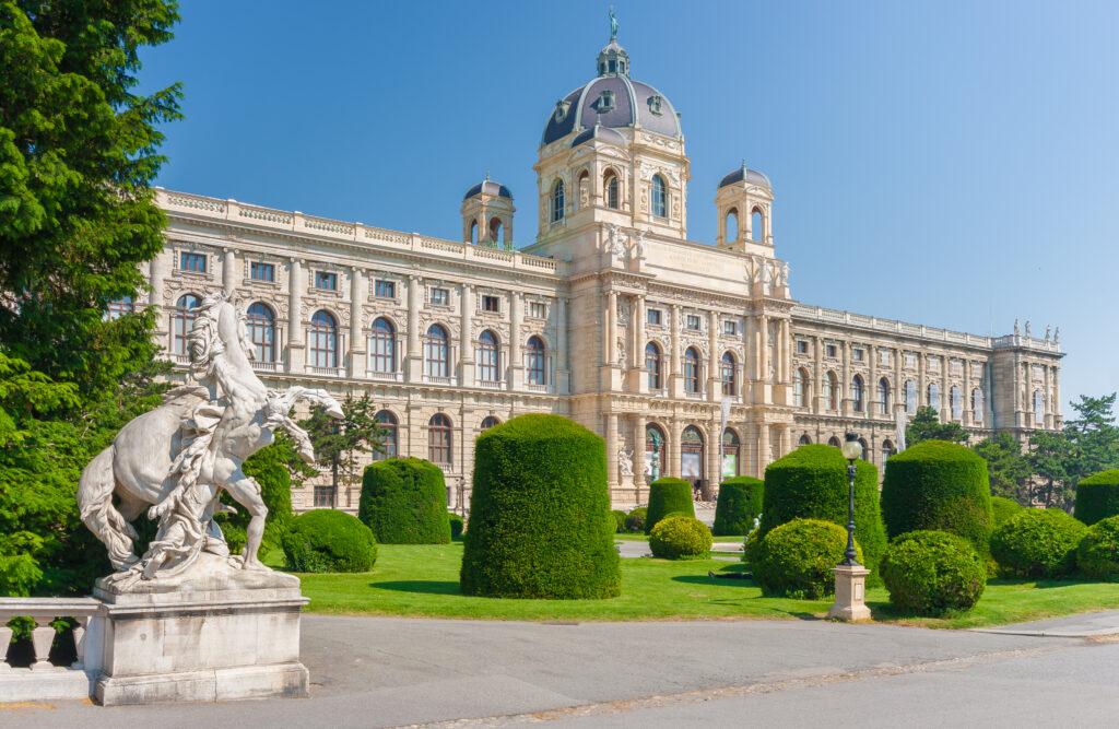 Narrenturm Museum in Vienna, Austria.