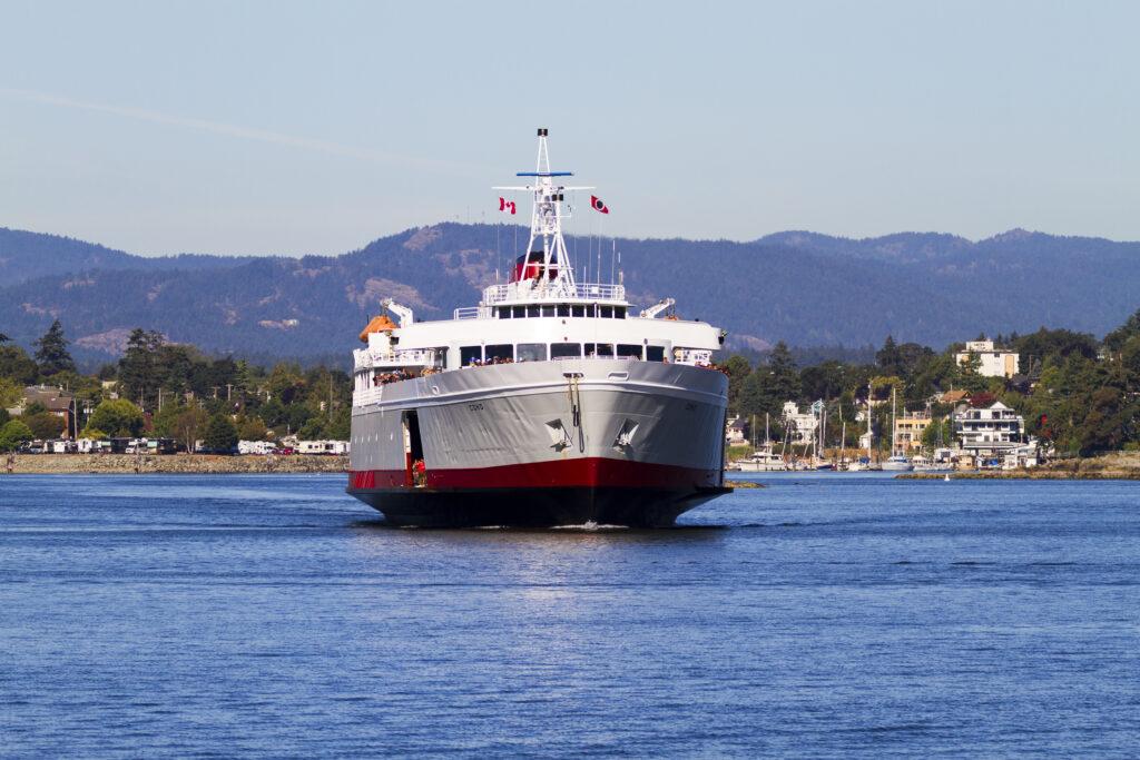 The Coho Ferry.