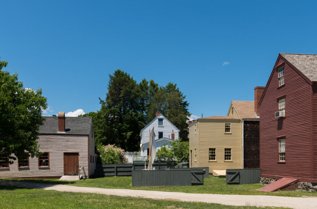 Strawbery Banke Museum in New Hampshire.