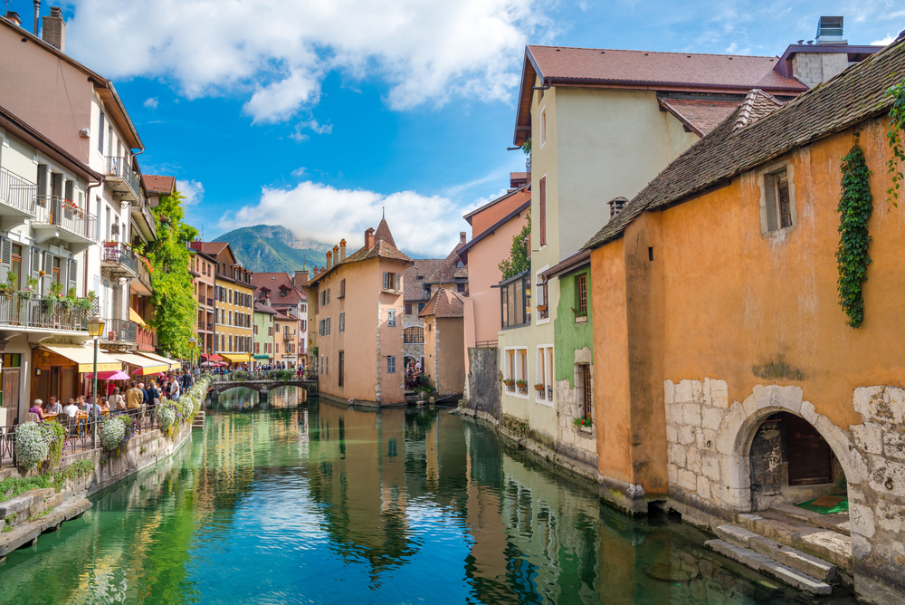 View of the old town of Best International Small Town Finalist: Annecy - Haute-Savoie, France