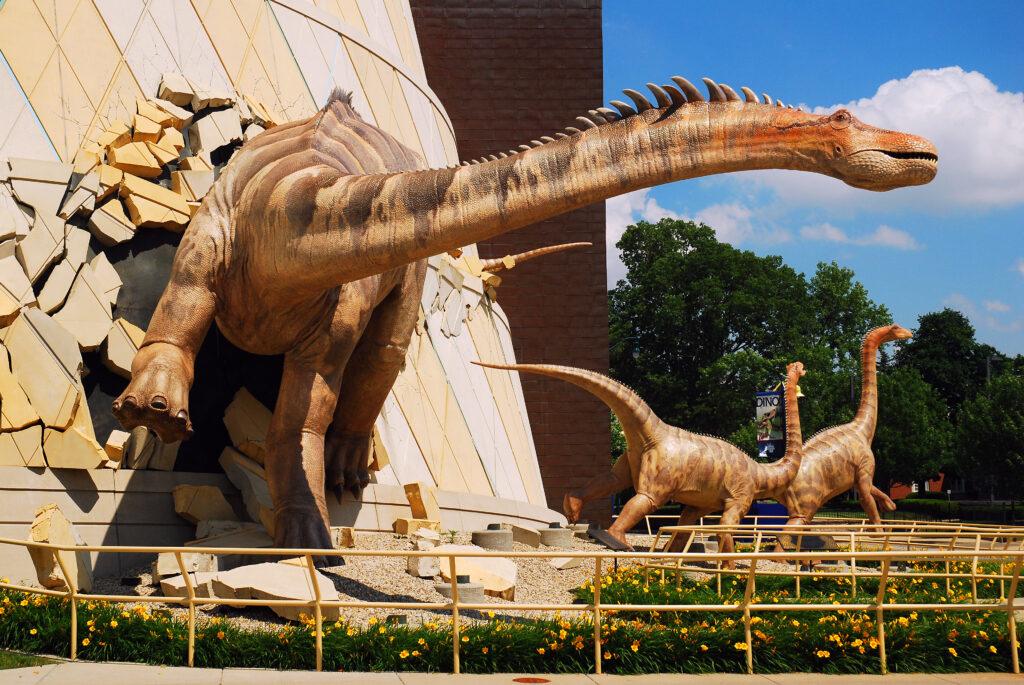 Indianapolis Children's Museum in Indianapolis, Indiana.