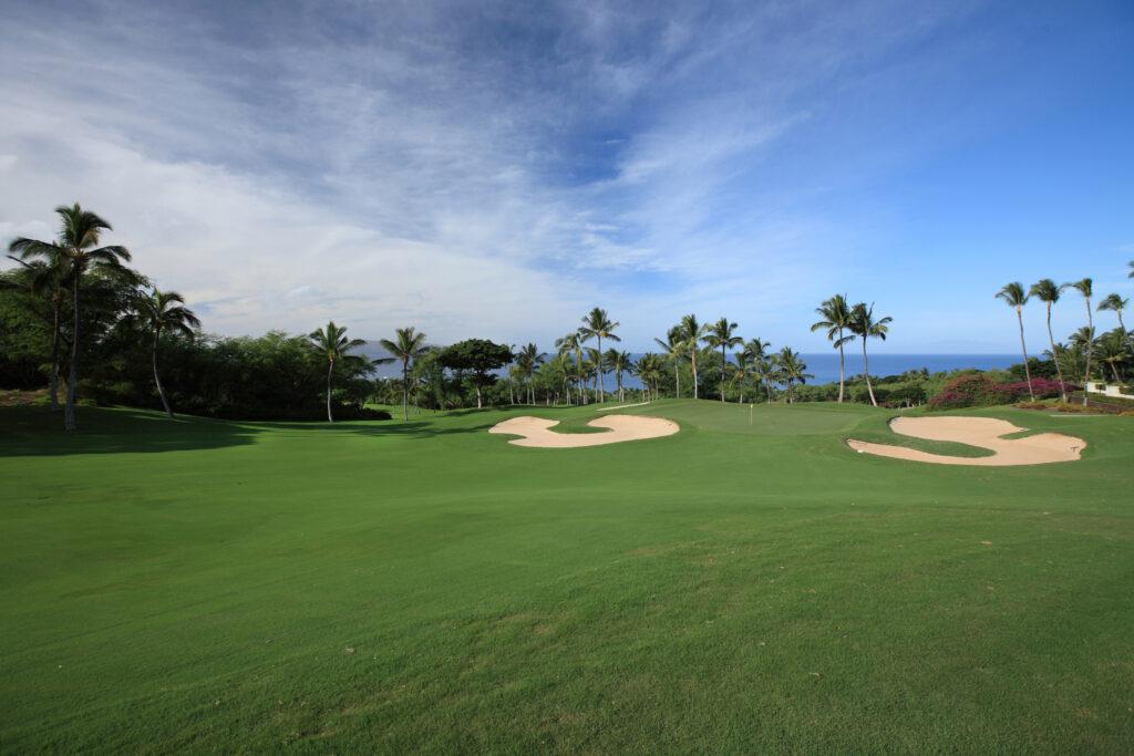Wailea Golf Club Gold Course.