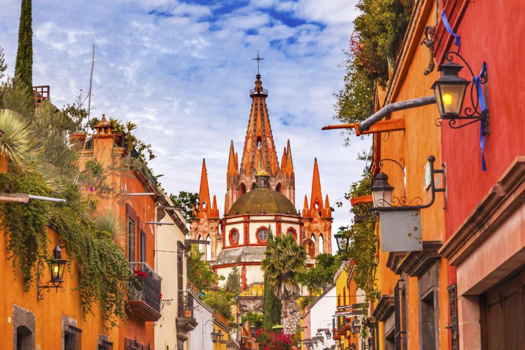 Aldama Street, San Miguel de Allende, Mexico.
