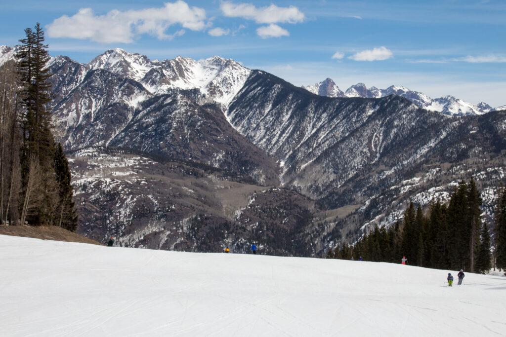 Purgatory Ski Resort in Durango, Colorado.