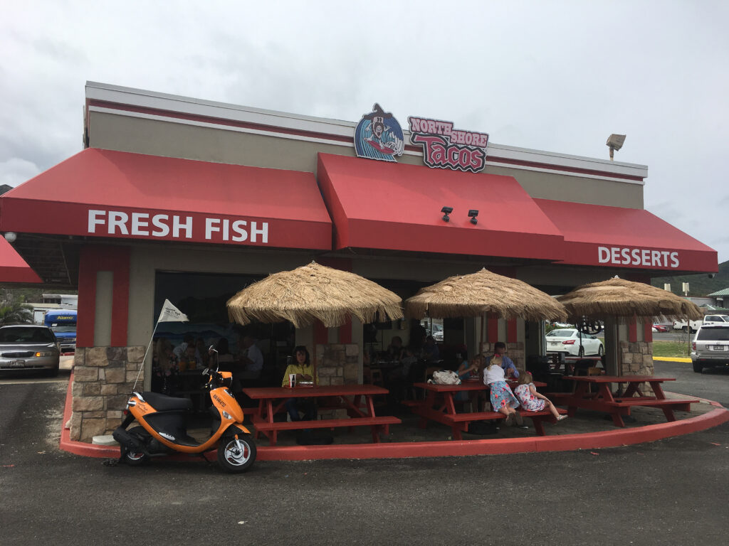 North Shore Tacos's on Oahu's North Shore.